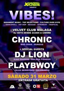 Fiesta Chronic Sound Malaga VIBES Velvet Club